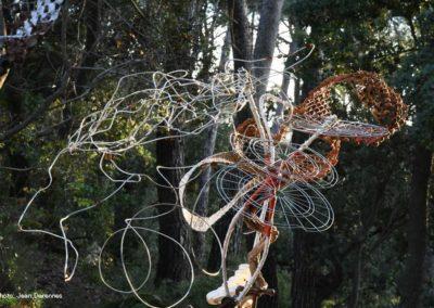 La forêt sacrée - l'arbre habité - sculpture contemporaine ATIKIN